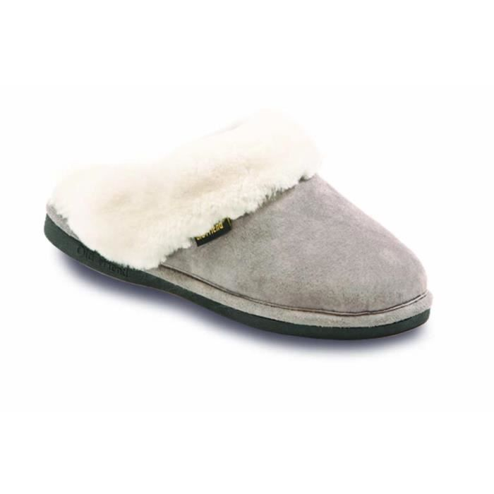 441169 Scuff Sheepskin Slipper E08OL Taille-36