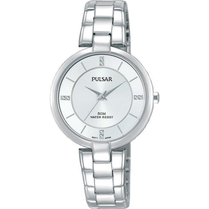 Ph8311x1 Pour Avec Bracelet De Pulsar Montre Femmes Des Cristaux Classic Swarovski vYyIbmfg76