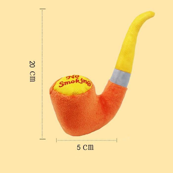 Chien Chat Squeaky Jouets En Peluche Forme De Tuyau Son Entraînement Toy Chew Wj614