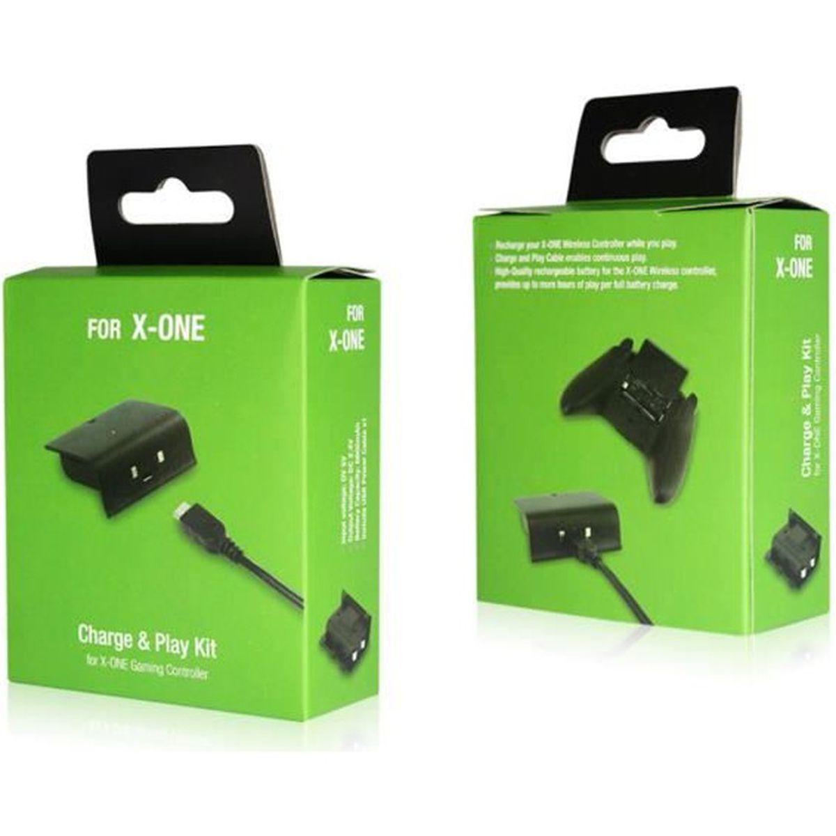 2 Pcs Jeux vidéo Accessoires Batterie rechargeable Play