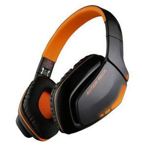 OREILLETTE BLUETOOTH KOTION B3506 Casque stéréo Bluetooth sans fil plia
