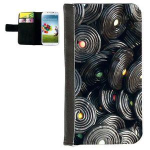 HOUSSE - ÉTUI Etui Samsung S4 Bonbons