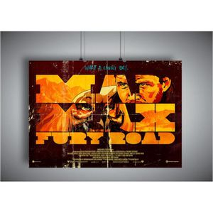 AFFICHE - POSTER Poster MAD MAX FURY ROAD STYLE VINTAGE COLLECTOR A
