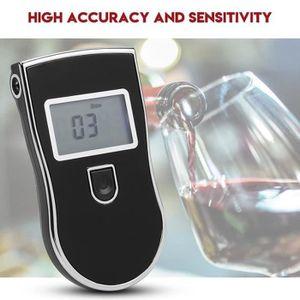 Docooler Alcootest numérique portatif dappareil de contrôle dalcool professionnel de porte-clés Alcootests Auto et Moto