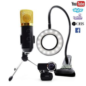 WEBCAM Twitch Streaming équipement kit, Streaming Camera