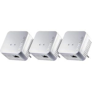 COURANT PORTEUR - CPL Pack de 3 x Devolo dLAN 550 Wi-Fi - Prise CPL Wi-F