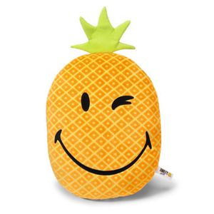 COUSSIN NICI Smiley - Coussin Ananas 32x25 cm