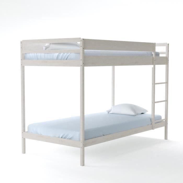 brice lit superpos enfant contemporain en bois pic a. Black Bedroom Furniture Sets. Home Design Ideas