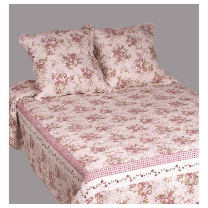 couvre lit fleur - achat / vente couvre lit fleur pas cher - cdiscount