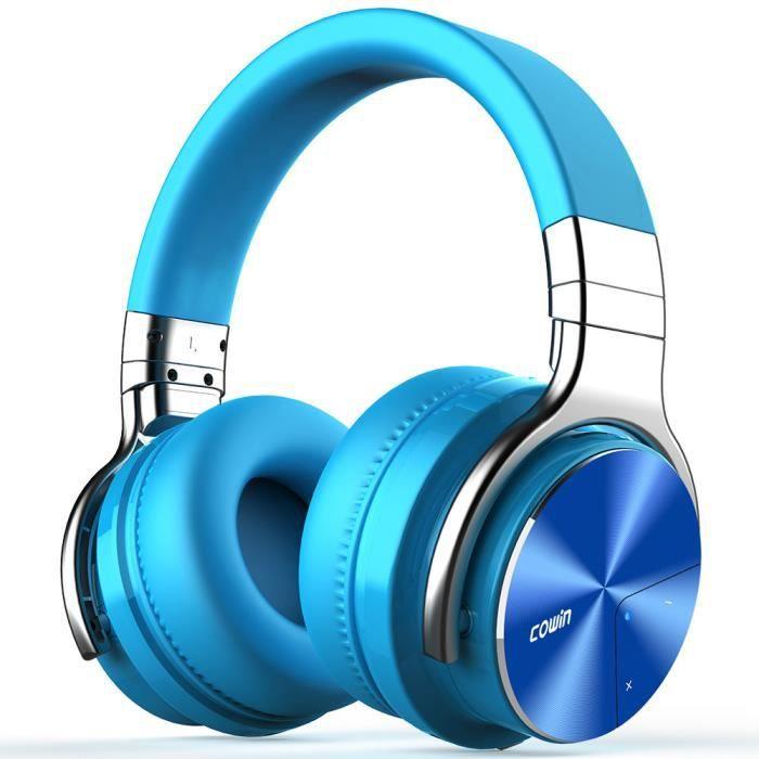 Cowin E7 Pro Casque Audio À Réduction De Bruit Bleu(édition Limitée)