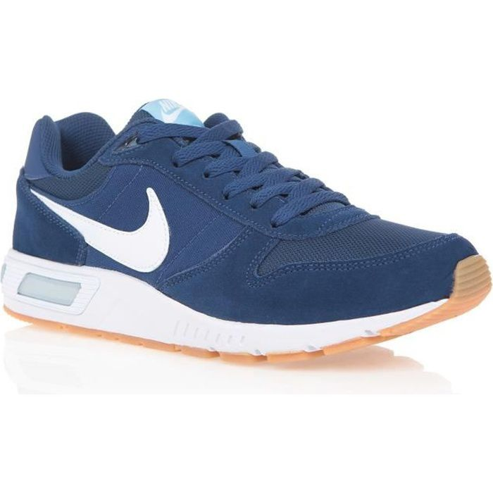 the latest 94104 6f3b7 Basket nike bleue homme