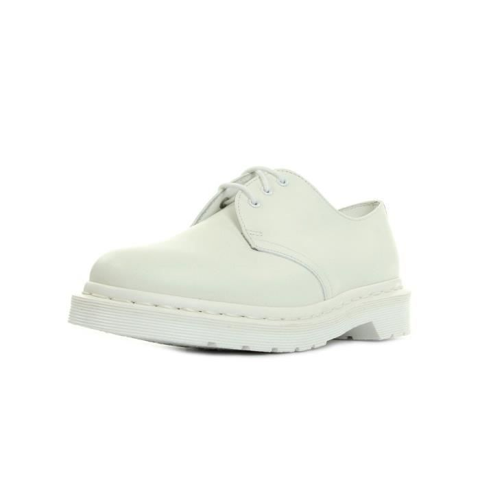 Chaussures Dr Martens 1461 Mono White Smooth