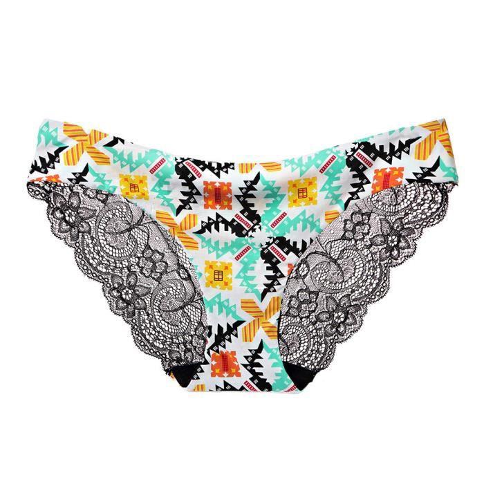 multicolore Basse Thongs vêtements Culottes string Sous Dentelle Fleurs Taille Sexy 1pc Lingerie Femmes G OCnqHH