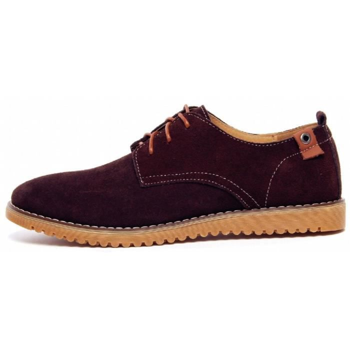 Cuir Oxford chaussures UESC2 Taille-40 1-2