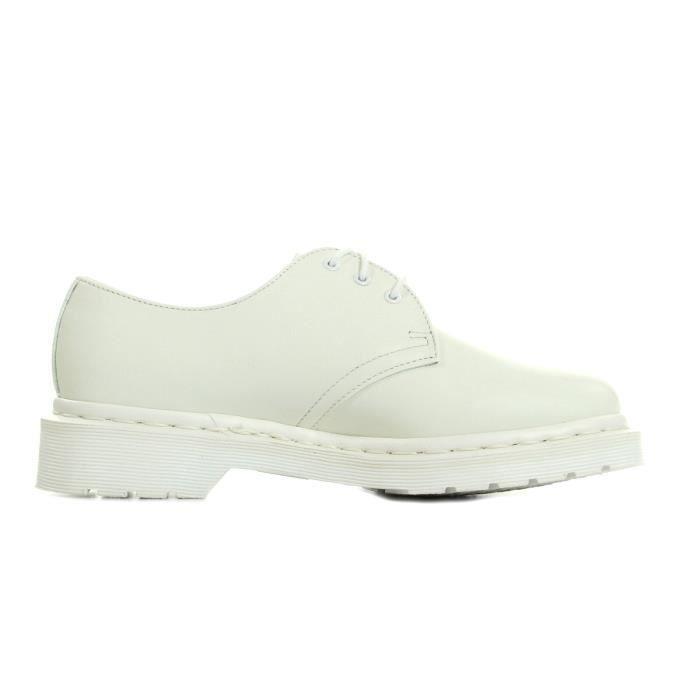 Chaussures Dr Martens 1461 Mono White Smooth yZd5uqc