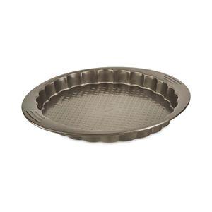 TEFAL EASY GRIP Moule ? tarte et cannelé J1628314 diam?tre 27 cm marron