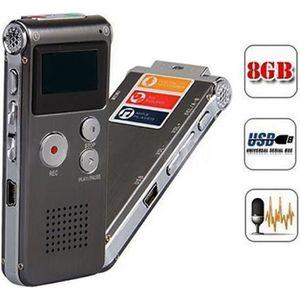 DICTAPHONE - MAGNETO. 8 Go Enregistreur vocal audio numérique de Dictaph