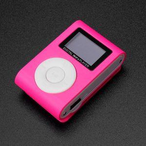 LECTEUR MP3 Clip Mini USB Lecteur MP3 Support écran LCD 32 Go