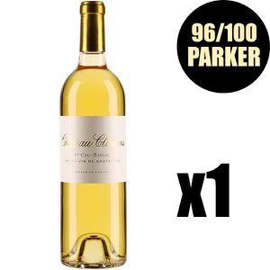 VIN BLANC X1 Château Climens 2016 75 cl AOC Sauternes 1er Cr