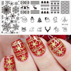 nail art noel stamping
