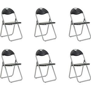 CHAISE Lot de 6 Chaises Pliable Chaises Pliantes en PVC M