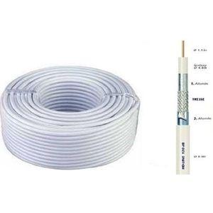cable pour parabole achat vente cable pour parabole pas cher cdiscount. Black Bedroom Furniture Sets. Home Design Ideas