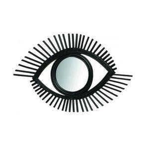 MIROIR Miroir Rotin Noir Oeil 0,000000 8efc58bc634d