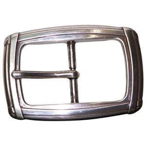 boutique pour officiel aliexpress vente énorme Boucle de ceinture argentée classique, boucle à griffe ...