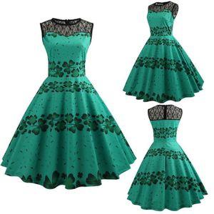 ROBE ROBE_fermeture à glissière robe d'été Femmes Vinta