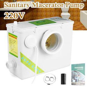 WC - TOILETTES TEMPSA 220V Toilette WC Pompe de Relevage Broyeur