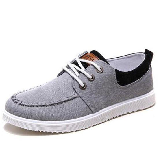 Chaussures Quatre Toile Ylg Durable Basses Hommes Saisons En xz115gris40 rOrcRqUZFI