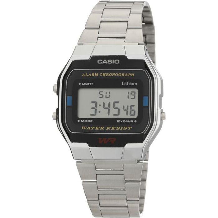 Casio montre quartz a163wa1qes mixte
