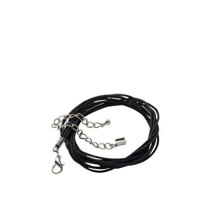 PANDURO Apprêt collier - 46 cm - Noir