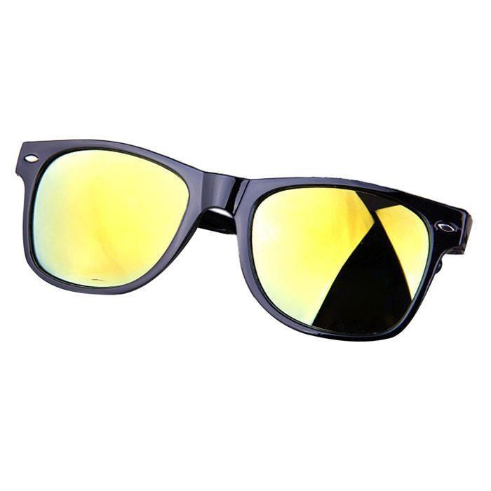 lunettes Lunettes miroir aviateur de de jaune Lunettes Rétro femme de soleil Lunettes 115060402D vue wqZ6XpY