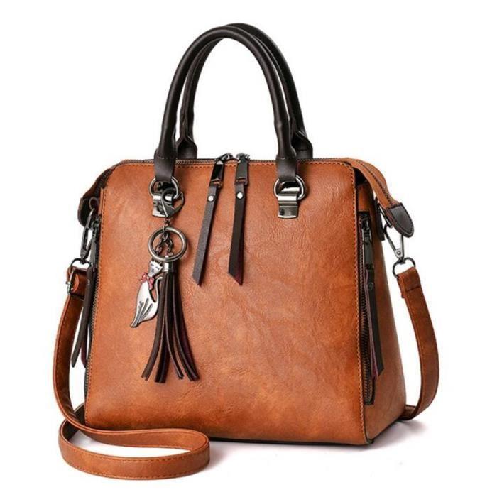 sac à main Femmes Designer de luxe de marque de haute qualité fourre-tout en cuir dépaule pour dames Femme 2017 Bolsos Mujer-485