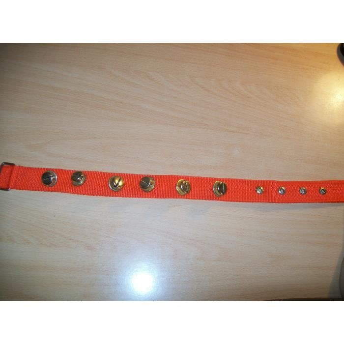 Collier Chiot Chat Rouge A Clochette