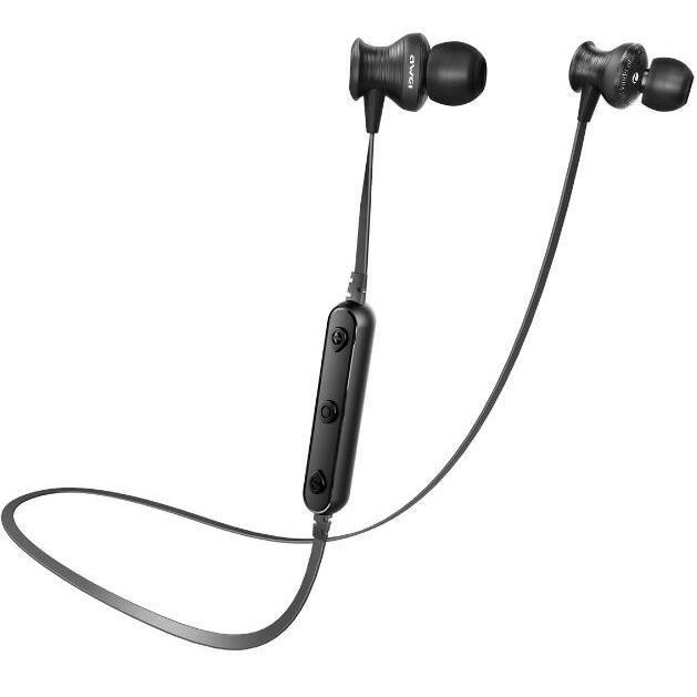 Noir Awei Bluetooth Sans Fil Écouteur Crochet D'oreille Casque Étanche Réduction Du Bruit Stéréo Avec Mic