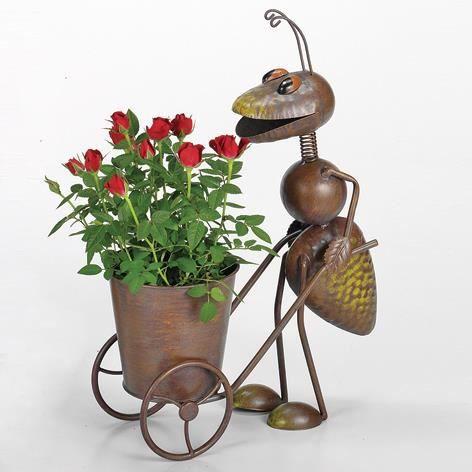 brema support pour pot de fleur fourmi 43cm achat. Black Bedroom Furniture Sets. Home Design Ideas