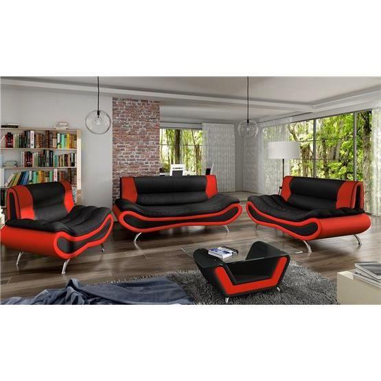 canap sofa divan canap 32 table basse ori noir et rouge - Table Basse Rouge Et Noir