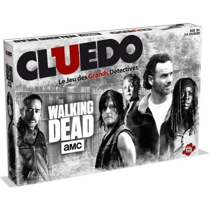 JEU SOCIÉTÉ - PLATEAU CLUEDO - The Walking Dead AMV TV - Jeu de societé