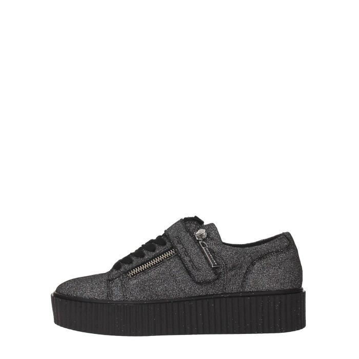 Fornarina Sneakers Femme Grey Glitter