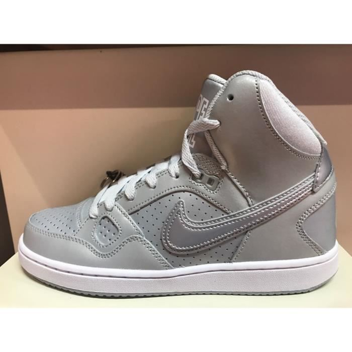 new products 990a5 4e672 BASKET Baskets Nike Son of Force Mid grises 616303-019.