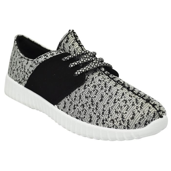 Bamboo Tilt-01S Femmes en tricot Sneakers GARHI Taille-40