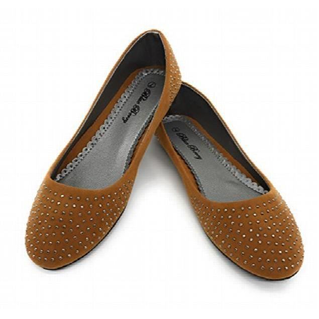 Easy21 Casual Flats Ballet Fashion Shoes Faux Leather TIAFL Taille-39 uWxtyEKA