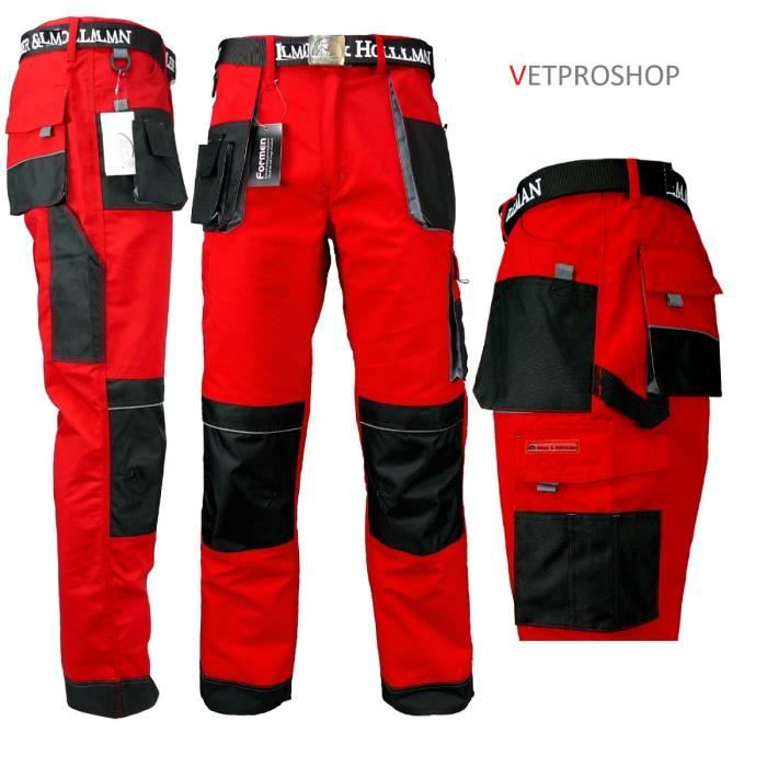Pantalon Vente Achat Cher De Pas Rouge Travail 1xr1fq