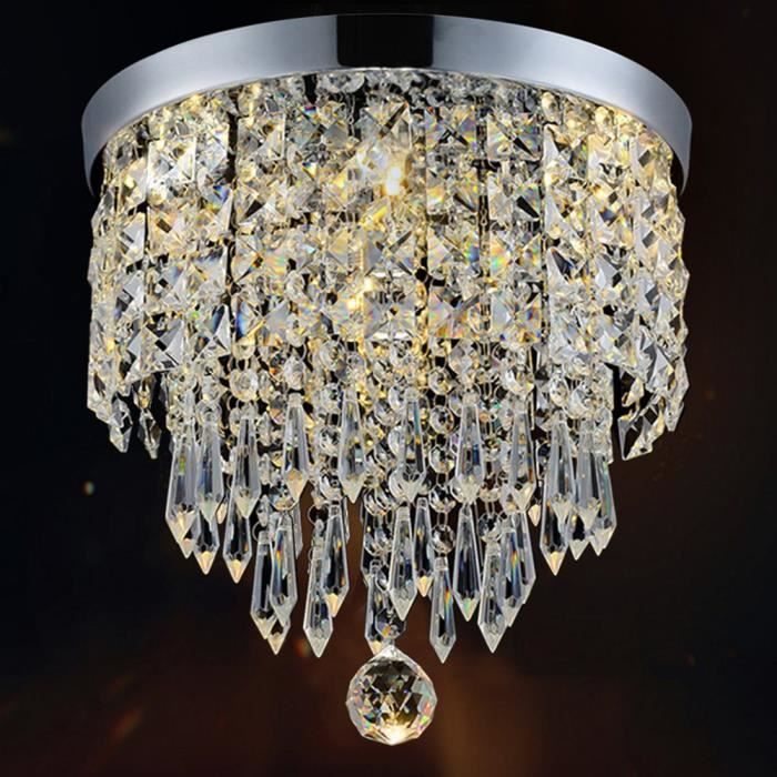 lustre cristal achat vente lustre cristal pas cher soldes d s le 10 janvier cdiscount. Black Bedroom Furniture Sets. Home Design Ideas