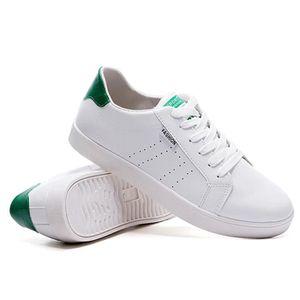 Chaussures De Sport Pour Hommes En Cuir Basket Casual DTG-XZ128Vert40 88eOENbyM4