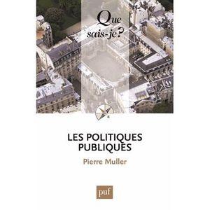 ENCYCLOPÉDIE Les politiques publiques