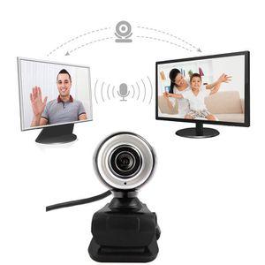 WEBCAM HD 12 Caméra Webcam Megapixels USB2.0 avec clip MI