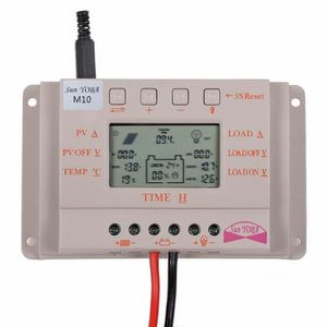 CHARGEUR - ADAPTATEUR  panneaux solaires régulateur à régulateur de charg